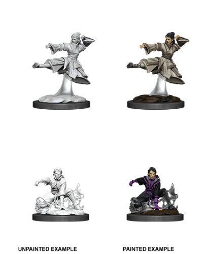 Female Human Monk: D&D Nolzur's Marvelous Unpainted Miniatures